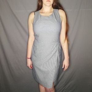 Banana Republic Sloan-fit cross front sheath dress